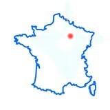 Saron-sur-Aube sur la carte de France